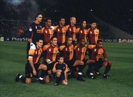 as roma 2001